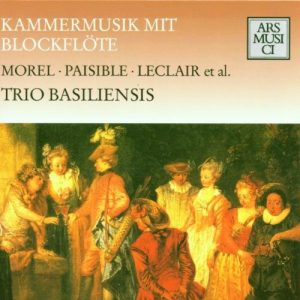 Trio Basiliensis : Chamber music with Recorder ARS MUSICI 1105-2